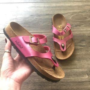 Papillio by Birkenstock Pink Rhinestone Sandal